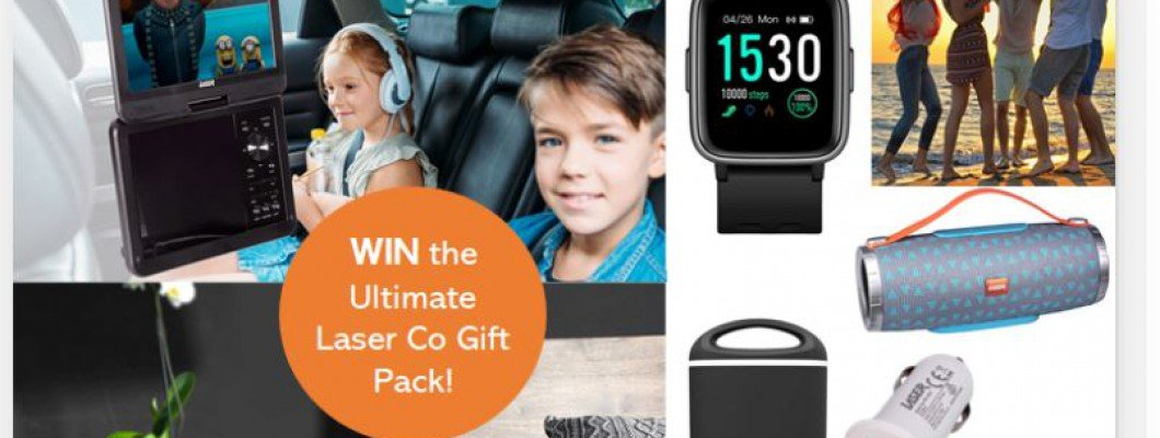 WIN The Ultimate Laser Co Gift Pack!