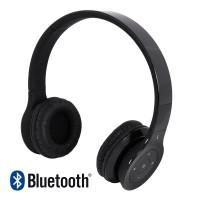 Headset Stereo Bluetooth V3.0 Universal Black