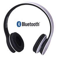Headset Stereo Bluetooth V3.0 Universal White
