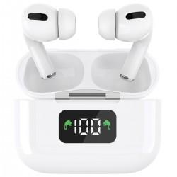 Laser TWS Earphones with Wireless Charging Case