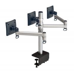 Laser Triple Monitor Screen Rotatable Arm