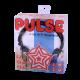 DJ Style Over Ear Headphones WHITE (Skull Motif)