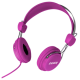 Headphones Stereo Kids Friendly Colourful Pink