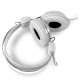 Headphones Stereo Kids Friendly Colourful White