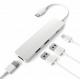 USB Type C Multi-port Hub USB-C to USB-3.0 USB-C 4K HDMI