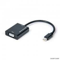 Mini DisplayPort to VGA Adapter Male to Female Cable 20cm