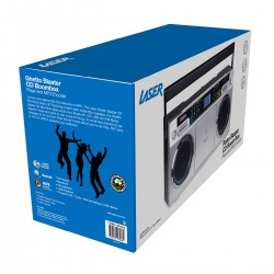 Laser Retro Blaster CD Boombox