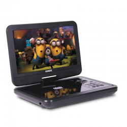 Laser Portable DVD Player 10 inch with Bonus Pack