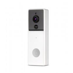 Laser Smart Full HD Video Doorbell White