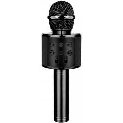 Laser LED Karaoke Microphone Black