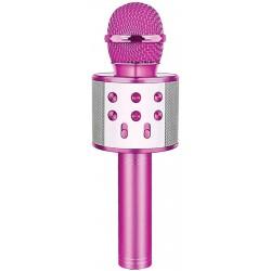 Laser LED Karaoke Microphone Purple