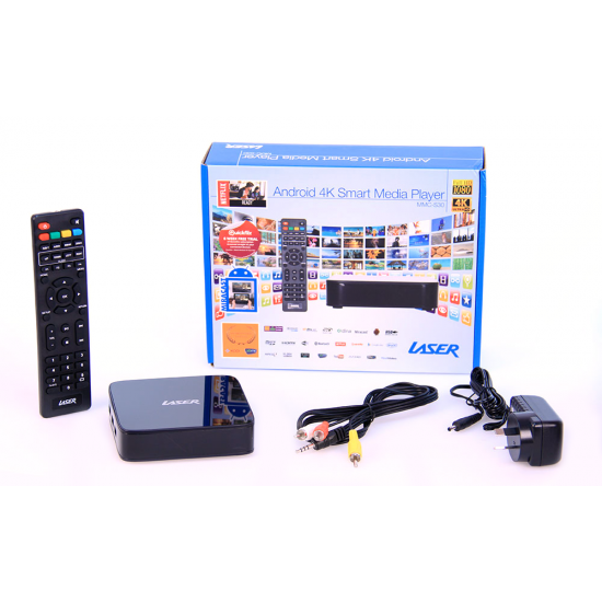 Android Media Player UHD 4k, FHD 2k, Netflix on board