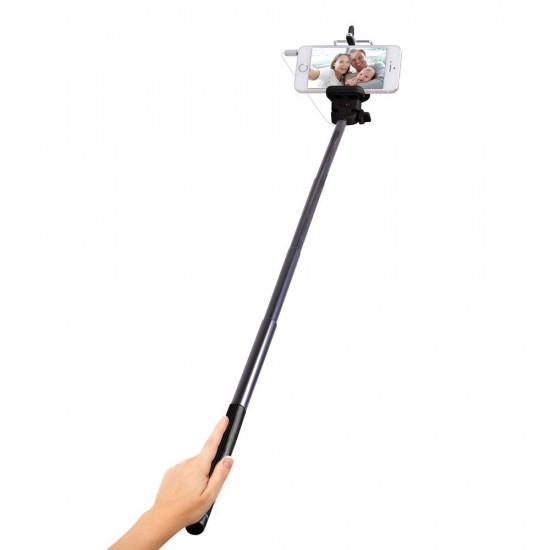 Universal Selfie Pole with Control Cable included