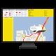 Bike Sports GPS Tracking Handle Bar Mount