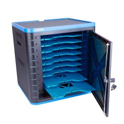 10 Bay Charging Cart  - USB Port with Sync and Charge
