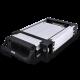 "HDD Rack Removable SATA 3.5"" Aluminium Black"