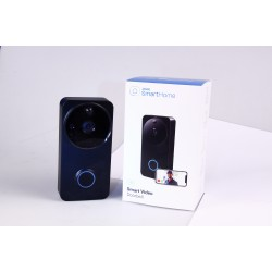 Laser Smart Doorbell with Camera (Black)