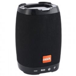 Laser Bluetooth Speaker with Phone Holder, Black