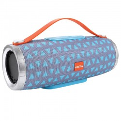 Laser Bluetooth Tube Speaker, Blue