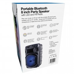 Laser Portable Party Speaker with LED