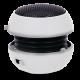 Speaker Portable MP3 Burger 3.5mm White