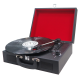 Encore: Retro 3-speed Stereo Turntable with Built-in Stereo Speakers