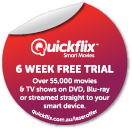 Quickflix Sticker